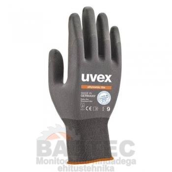 Töökindad Uvex Phynomic Lite, hallid, suurus 9