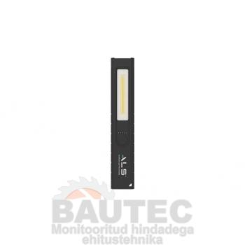 Töövalgusti 400lm COB LED, eriti kompaktne, laetav, aku indikaator, IP54