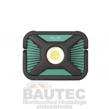 Töövalgusti COB LED 2000lm, rasketesse tingimustesse, laetav, IP65