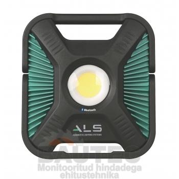 Töövalgusti COB LED 6000lm, rasketesse tingimustesse, laetav/juhtmega, IP65