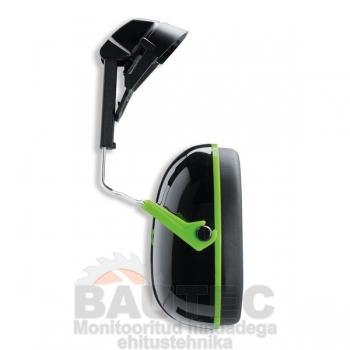 Kõrvaklapid kiivrile Uvex K1H SNR: 27 dB, must/roheline