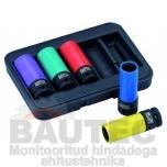 Löökpadrunvõtmete kmpl. Bahco BWSS12P5