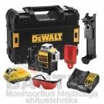 3D Ristjoonlaser DeWalt DCE089D1R 10,8V
