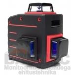 3D Ristjoonlaser TAMO punase kiirega