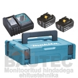 Powerpack Makita 2X18V 4,0Ah + DC18RC 197494-9