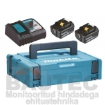 Powerpack Makita 2X18V 6,0Ah + DC18RC 198116-4