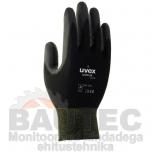 Töökindad Uvex Unipur 6639 PU, mustad, suurus 10