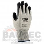 Lõikekindlad töökindad Uvex Unidur 6659 Foam, lõikekindluse klass 5, HPPE/polüamiid/klaas/NBR vahtkate, suurus 9