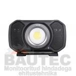 Töövalgusti kõlariga ALS AUD202H COB LED 2000lm