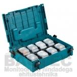 Powerpack Makita 8 x 18V 5.0Ah Makpac kohvris