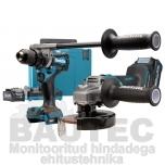 Combo Kit Makita DK0124G201 XGT