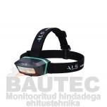 Töövalgusti otsmikule ALS HDL251R COB LED 250lm, laetav, sisse/välja lülitamine käeviipega, erinevad režiimid, IP65