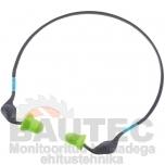 Kõrvatropid Uvex Xact-peavõruga. SNR 26 dB