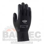 Töökindad külma ilma jaoks, Uvex Unilite Thermo Plus, mustad, suurus 11