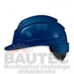 Kiiver Uvex Pheos IES, sinine, reguleeritava ventilatsiooniga, 55-61 cm. kaitseprillide adapter, pingutus rattaga